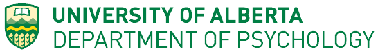 University of Alberta Department of Psychology Logo