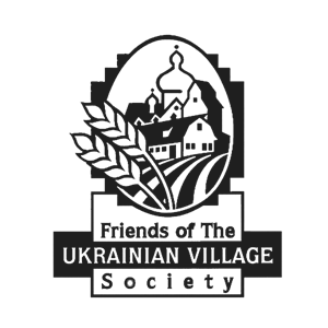 Friends of the Ukarainian Village Society Logo